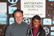 Actors David Arquette and Shanola Hampton attend the power of Independent Creative Voices celebration, hosted by David Arquette and Shanola Hampton during the 2019 Sundance FIlm Festival at Hotel Park City on January 25, 2019 in Park City, Utah.
