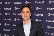 Actor Zach Braff  attends the 2018 Vulture Festival Los Angeles at The Hollywood Roosevelt Hotel on November 17, 2018 in Los Angeles, California.