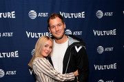 (L-R) Cassie Randolph and Colton Underwood attend Vulture Festival Presented By AT&T at The Roosevelt Hotel on November 09, 2019 in Hollywood, California.