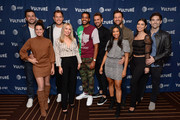 (L-R) Tanner Tolbert, Jade Roper Tolbert, Colton Underwood, Cassie Randolph, Eric Bigger, Nick Viall,  Katie Morton, Chris Bukowski, Ashley Iaconetti, and Jared Haibon attend Vulture Festival Presented By AT&T at The Roosevelt Hotel on November 09, 2019 in Hollywood, California.