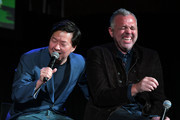 Ken Jeong (L) and Chris McKenna speak onstage during Vulture Festival Presented By AT&T at The Roosevelt Hotel on November 10, 2019 in Hollywood, California.