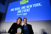 Editor-in-chief at New York magazine (L) and novelist Jennifer Egan attend Vulture Festival presented by AT&T: One Book, One New York at Milk Studios on May 19, 2018 in New York City.