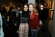 Camila Mendes and Miranda Otto attend The Vulture Spot presented by Amazon Fire TV 2020 at The Vulture Spot on January 25, 2020 in Park City, Utah.