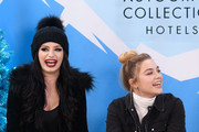 Paige and Florence Pugh attend the Vulture Spot during Sundance Film Festival on January 27, 2019 in Park City, Utah.