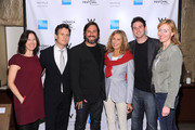 (L-R)  (L-R) Jurors Margaret Bodde, JD Heyman, winner/director Pablo Croce, model Lauren Hutton, Jared Cohen and Annie Sundberg attends The Tribeca Film Festival Awards hosted by The W Hotel at The W Hotel Union Square on April 28, 2011 in New York City.