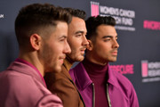 "(L-R) Nick Jonas, Kevin Jonas, and Joe Jonas of The Jonas Brothers attend WCRF's ""An Unforgettable Evening"" at Beverly Wilshire, A Four Seasons Hotel on February 27, 2020 in Beverly Hills, California."