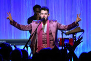 "Nick Jonas of The Jonas Brothers performs onstage during WCRF's ""An Unforgettable Evening"" at Beverly Wilshire, A Four Seasons Hotel on February 27, 2020 in Beverly Hills, California."