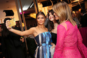 """(L-R) Olivia Jade Giannulli, Isabella Rose Giannulli and Lori Loughlin attend WCRF's """"An Unforgettable Evening"""" at the Beverly Wilshire Four Seasons Hotel on February 28, 2019 in Beverly Hills, California."""