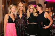"""(L-R) Crystal Lourd, WCRF Co-Founder Jamie Tisch, Paris Hilton and Tamara Melon attend WCRF's """"An Unforgettable Evening"""" at the Beverly Wilshire Four Seasons Hotel on February 28, 2019 in Beverly Hills, California."""