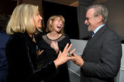 """(L-R) WCRF Co-Founder Kelly Chapman Meyer, Kate Capshaw and Steven Spielberg attend WCRF's """"An Unforgettable Evening"""" at the Beverly Wilshire Four Seasons Hotel on February 28, 2019 in Beverly Hills, California."""