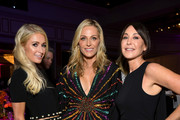 """Paris Hilton, WCRF Co-Founder Jamie Tisch and Tamara Melon attends WCRF's """"An Unforgettable Evening"""" at the Beverly Wilshire Four Seasons Hotel on February 28, 2019 in Beverly Hills, California."""