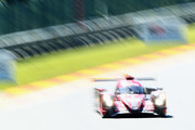 REBELLION RACING in the Rebellion R13 in the Gibson and Gibson driven by Neel Jani of Switzerland Andre Lotterer of Germany Bruno Senna of Brazil competes during Final Free Practice session in the WEC 6 Hours Of Spa-Francorchamps at Circuit de Spa-Francorchamps on May 4, 2018 in Spa, Belgium.