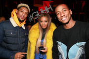 (L - R) TV personalities Darnell King, Vanessa Simmons, and Santos Garcia attend the Growing Up Hip Hop season 4 party on December 4, 2018 in New York City.