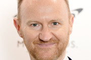Mark Gatiss arrives at the WINQ Men Of The Year 2017 at Rosewood Hotel on December 6, 2017 in London, England.