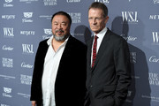 Ai Weiwei (L) and Sir Nicholas Serota attend the WSJ Magazine 2016 Innovator Awards at Museum of Modern Art on November 2, 2016 in New York City.