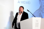 Artist Ai Wi Weiwei accepts an award onstage at the WSJ Magazine 2016 Innovator Awards at Museum of Modern Art on November 2, 2016 in New York City.