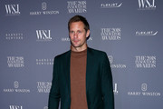 Alexander Skarsgard attends WSJ. Magazine 2018 Innovator Awards Sponsored By Harry Winston, FlexJet & Barneys New York - Arrivals at MOMA on November 7, 2018 in New York City.