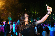 Ana Ivanovic of Serbia pose for a selfie at the players party during day two of the WTA Dubai Duty Free Tennis Championship at the Dubai Duty Free Stadium on February 16, 2016 in Dubai, United Arab Emirates.