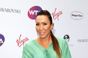 Jelena Jankovic attends the annual WTA Pre-Wimbledon Party at The Roof Gardens, Kensington  on June 29, 2017 in London, United Kingdom.