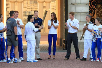 Wai-Ming Lee The Olympic Torch Continues Its Journey Around London