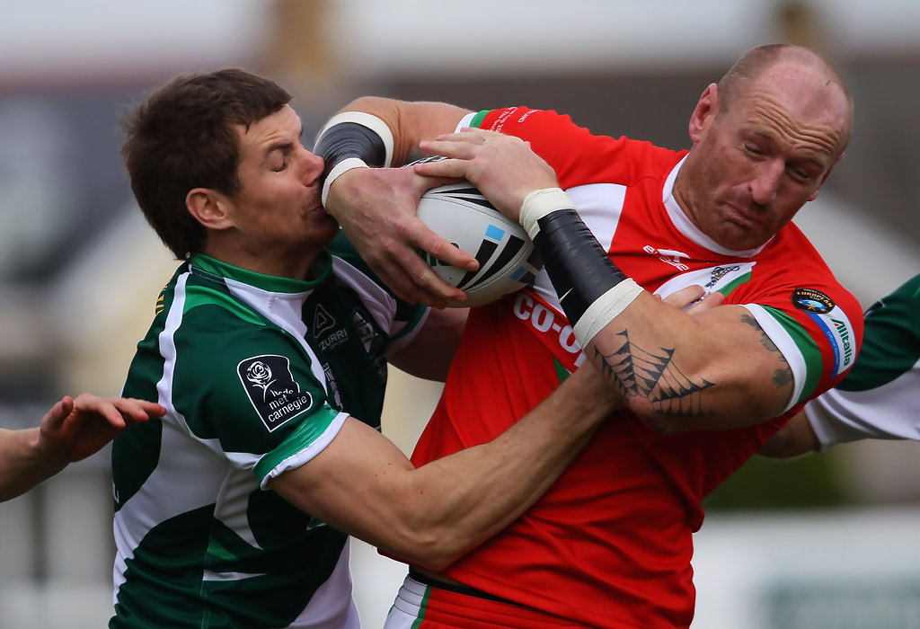 gareth thomas photos photos wales v ireland rugby