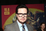 Josh McDermitt attends The Walking Dead Premiere and Party on September 23, 2019 in West Hollywood, California.