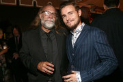 Greg Nicotero and Callan McAuliffe attend The Walking Dead Premiere and Party on September 23, 2019 in West Hollywood, California.