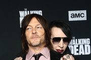 Marilyn Manson and Norman Reedus Photos Photo