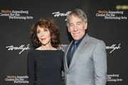 "Andrea Martin and Stephen Schwartz attend the Wallis Annenberg Center for the Performing Arts Spring Celebration ""An Evening of Wicked Fun"" honoring Stephen Schwartz at Wallis Annenberg Center for the Performing Arts on May 16, 2019 in Beverly Hills, California."