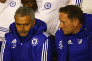 Jose Mourinho and Steve Holland Photos Photo