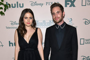 Molly Gordon (L) and Ben Platt attend The Walt Disney Company 2020 Golden Globe Awards Post-Show Celebration at The Beverly Hilton Hotel on January 05, 2020 in Beverly Hills, California.