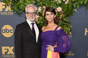 Bradley Whitford and Amy Landecker arrive at the Walt Disney Television Emmy Party on September 22, 2019 in Los Angeles, California.