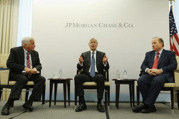 Walter Isaacson JPMorgan Chase CEO Jamie Dimon And Detroit Mayor Duggan Discuss The Bank's Investment In Detroit