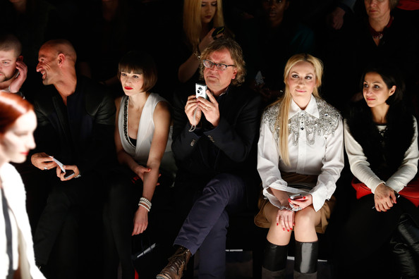 Arrivals at the Marcel Ostertag Show