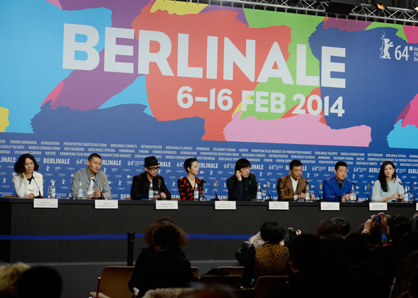 'Black Coal, Thin Ice' Press Conference - 64th Berlinale International Film Festival