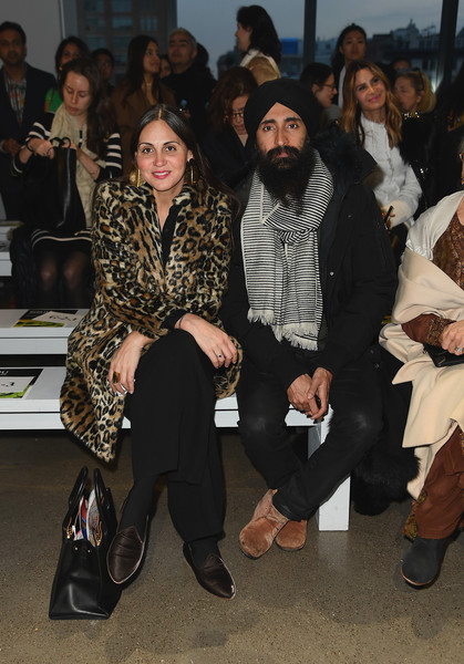 Bibhu Mohapatra - Front Row - February 2019 - New York Fashion Week: The Shows