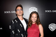 Actor Robert Downey Jr. and Susan Downey attend the Warner Bros. Pictures and Dolce & Gabbana TIFF cocktail party during the 2014 Toronto International Film Festival at Momofuku Daisho on September 6, 2014 in Toronto, Canada.
