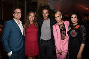 Director David Dobkin, producer Susan Downey, producer Shawn Levy, actress Noomi Rapace and President, Worldwide Marketing and International Distribution for Warner Bros. Pictures Sue Kroll attend the Warner Bros. Pictures and Dolce & Gabbana TIFF cocktail party during the 2014 Toronto International Film Festival at Momofuku Daisho on September 6, 2014 in Toronto, Canada.