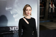 """Taissa Farmiga attends Warner Bros. Pictures World Premiere of """"The Mule"""" at Regency Village Theatre on December 10, 2018 in Westwood, California."""