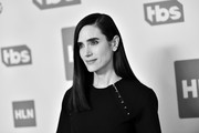 Image has been shot in black and white. No color version available) Jennifer Connelly of 'Snowpiercer' poses in the green room during the 2020 Winter Television Critics Association Press Tour at The Langham Huntington, Pasadena on January 15, 2020 in Pasadena, California. 697450