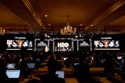 (L-R) David E. Kelley, Susanne Bier, Nicole Kidman, Hugh Grant and Noma Dumezweni of 'The Undoing' appear onstage during the HBO segment of the 2020 Winter Television Critics Association Press Tour at The Langham Huntington, Pasadena on January 15, 2020 in Pasadena, California. 697450
