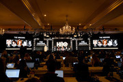 (L-R) David E. Kelley, Susanne Bier, Nicole Kidman, Hugh Grant and Noma Dumezweni of 'The Undoing' appears onstage during the HBO segment of the 2020 Winter Television Critics Association Press Tour at The Langham Huntington, Pasadena on January 15, 2020 in Pasadena, California. 697450