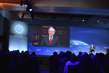 Warren Buffett 2016 Concordia Summit Convenes World Leaders to Discuss the Power of Partnerships - Day 2