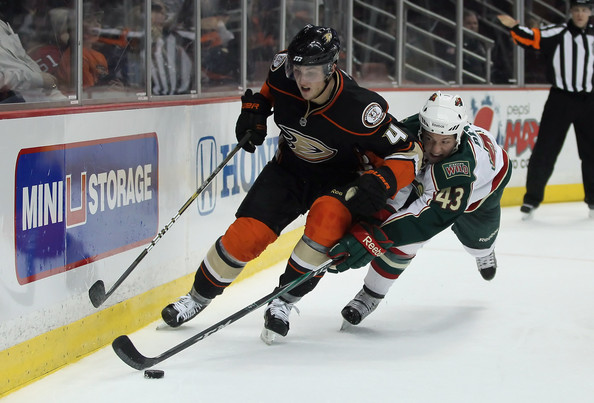 Warren Peters and Cam Fowler