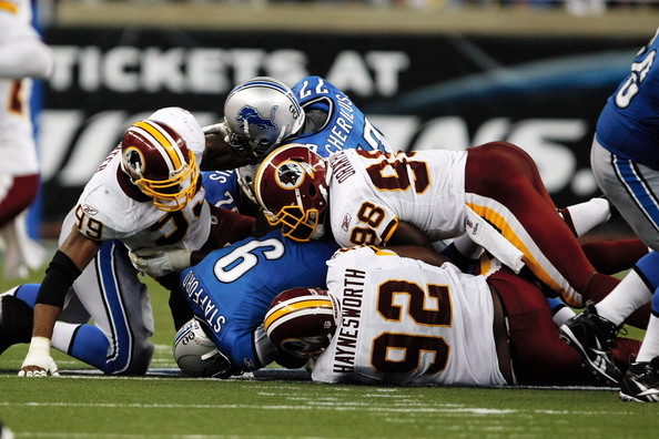 Redskins vs. Lions