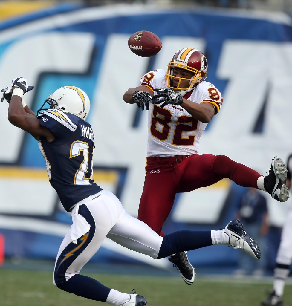 San Diego Chargers Football Field: Dante Hughes In Washington Redskins V San Diego Chargers 1