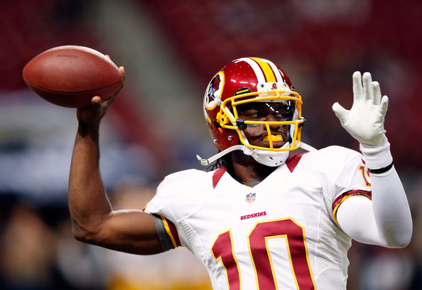 Robert Griffin III, Redskins vs Rams