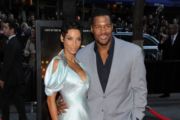 """Michael Strahan Nicole Murphy """"Water For Elephants"""" New York Premiere - Outside Arrivals"""