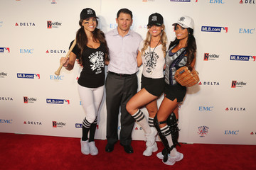 Wayne Chrebet Arrivals at Baseball's All-Star Bash in NYC