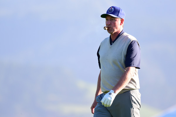 Wayne Gretzky Photos Photos At T Pebble Beach Pro Am Round Three